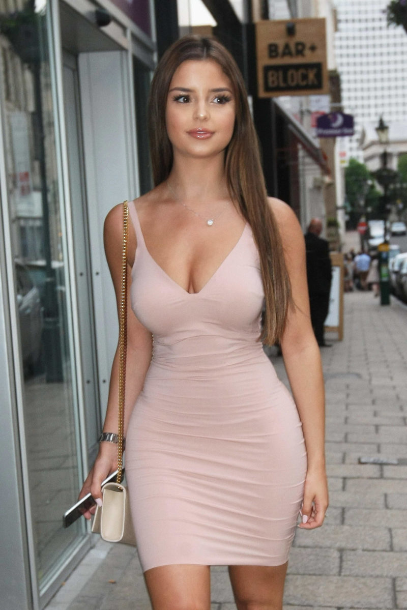 Demi Rose before