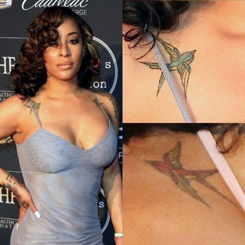 Hazel-E's sparrows tattoo