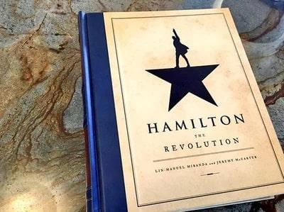 An image of Lin-Manuel Miranda book Hamilton
