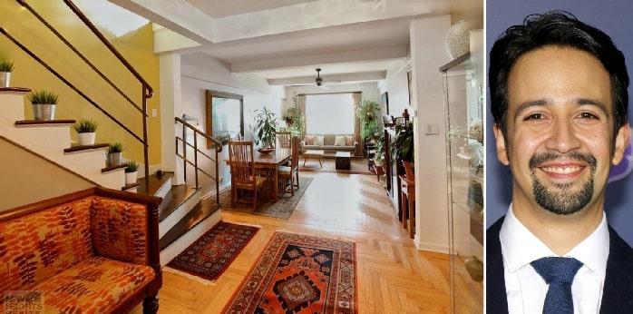 An image of Lin-Manuel Miranda's house