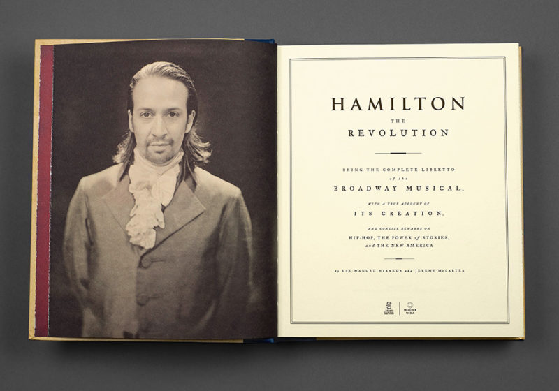 The book Hamilton: The Revolution