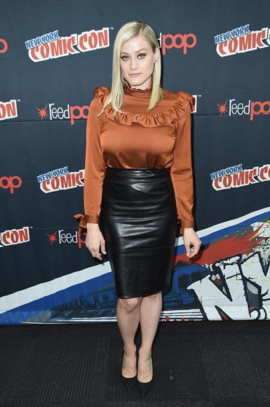 An image of Olivia Taylor Dudley in 2016